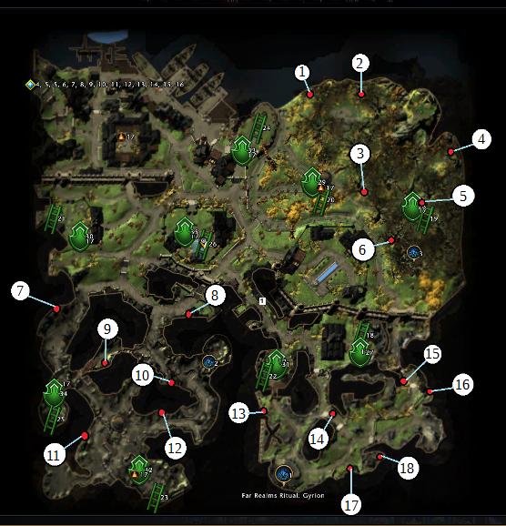 Carte Au Tresor Neverwinter Quartier De La Riviere.Quartier De La Riviere Guilde Myth