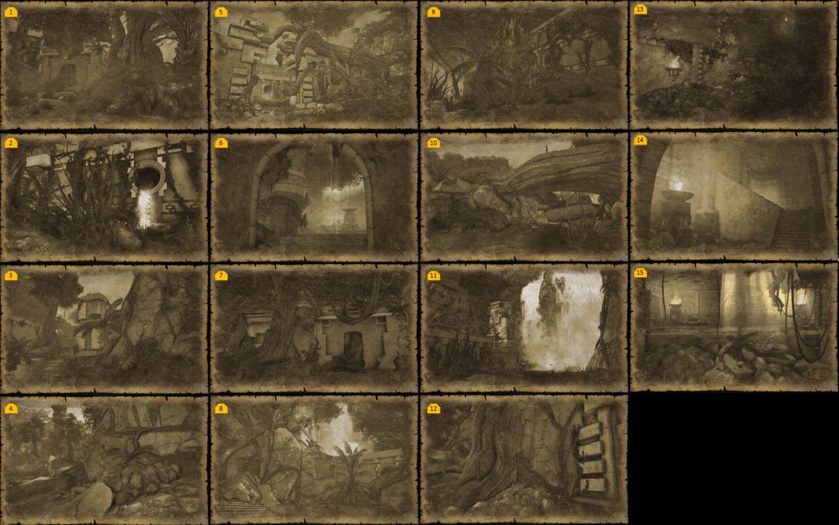 Carte Au Tresor Neverwinter Quartier De La Riviere.Citee Perdue De Omu Guilde Myths